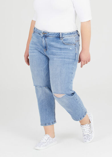 Petite Coolmax Mom Jeans
