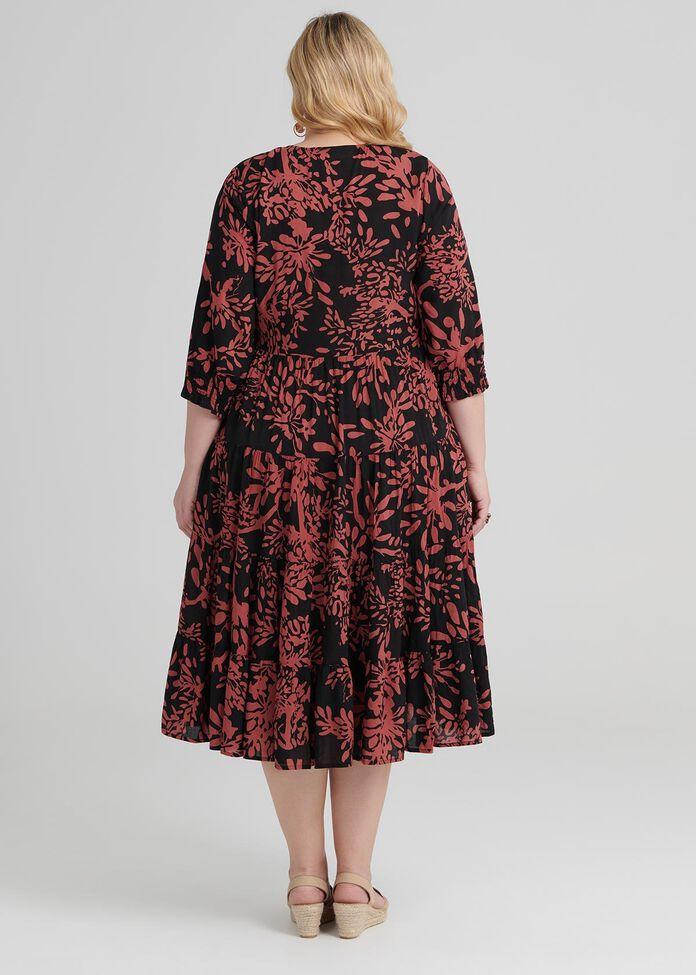 Valley Of Flowers Dress, , hi-res