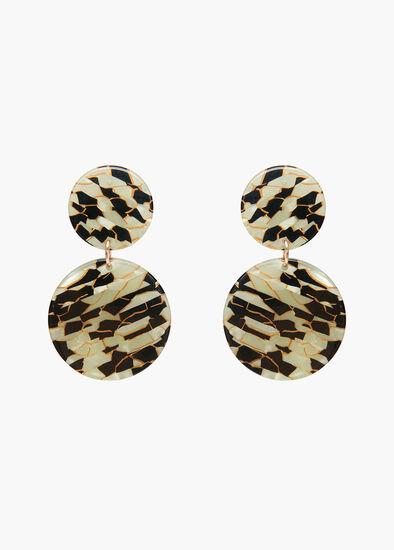 Bronze Glow Earrings