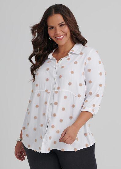 Boucle Spot Shirt