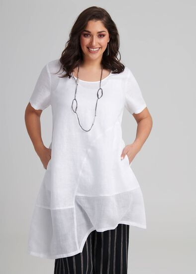 Linen Provence Tunic