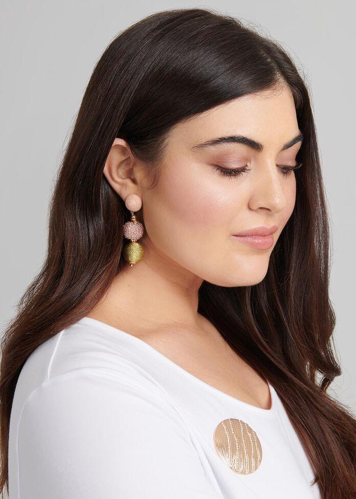 Softly Softly Earrings, , hi-res