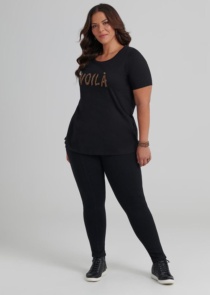 Coco Luxe Stitch Legging, , hi-res