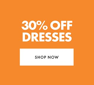30% off Full Priced Dresses