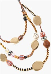 Mojave layered necklace