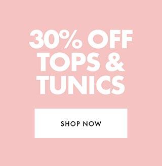 30% off tops