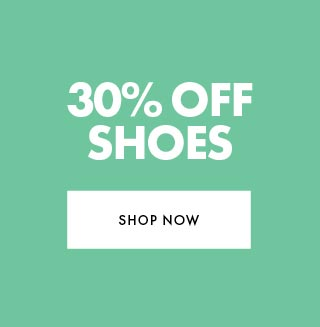 30% off full priced Shoes