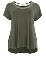 Bamboo Day to Day top green