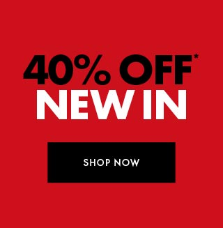 40% off full priced styles