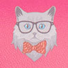 Cat Glasses Case, , swatch