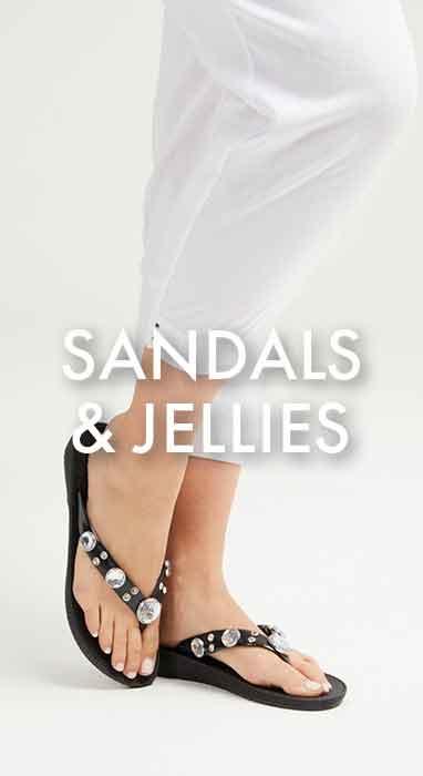 SANDALS & JELLIES